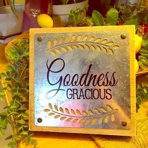 "Adorable Wall Art ""Goodness Gracious"""